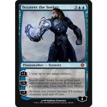 Magic the Gathering Shards of Alara Single Tezzeret the Seeker - SLIGHT PLAY (SP)