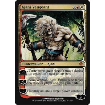 Magic the Gathering Shards of Alara Single Ajani Vengeant FOIL - SLIGHT PLAY (SP)