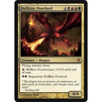 Magic the Gathering Shards of Alara Single Hellkite Overlord - NEAR MINT (NM)