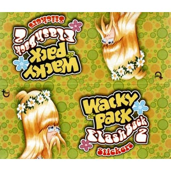 Wacky Packages Flashback Series 2 Hobby Box (2008 Topps)