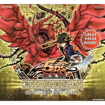 Upper Deck Yu-Gi-Oh Crossroads of Chaos Special Edition Box