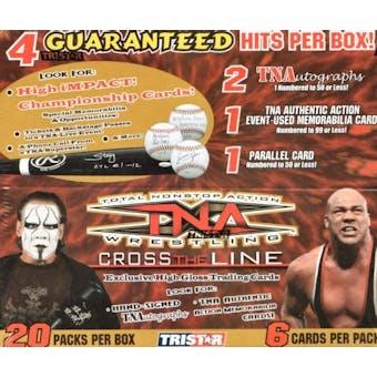 2008 Tristar TNA Cross the Line Wrestling Hobby Box