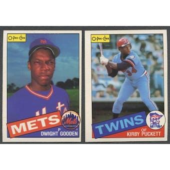 1985 O-Pee-Chee Baseball Complete Set (NM-MT)