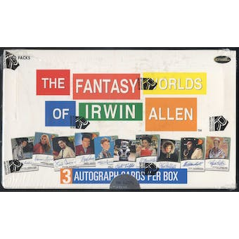 The Fantasy Worlds of Irwin Allen Trading Cards Box (Rittenhouse 2003)
