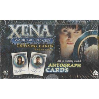 Xena: Warrior Princess Seasons 4 & 5 Trading Cards Box (Rittenhouse 2001)