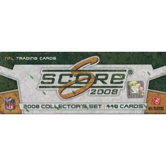 2008 Score Football Factory Set