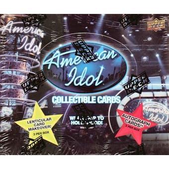American Idol Hobby Box (2009 Upper Deck)