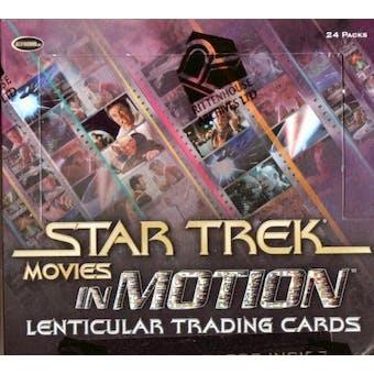 Star Trek Movies in Motion Trading Cards Box (Rittenhouse 2008)