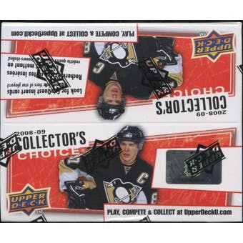 2008/09 Upper Deck Collector's Choice Hockey 36-Pack Box