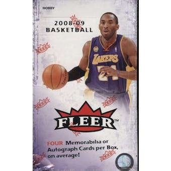 2008/09 Fleer Basketball Hobby Box