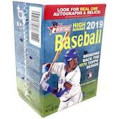 2019 Topps Heritage High Number Baseball 8-Pack Blaster Box