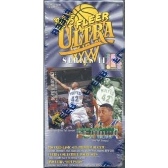 1994/95 Fleer Ultra Series 2 Basketball Retail Box