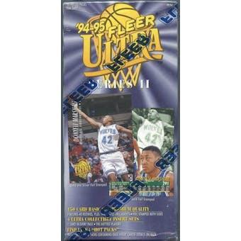 1994/95 Fleer Ultra Series 2 Basketball Prepriced Box