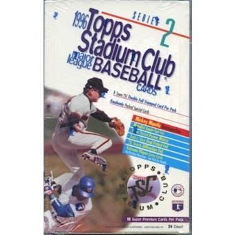 1996 Topps Stadium Club Series 2 Baseball Retail Box