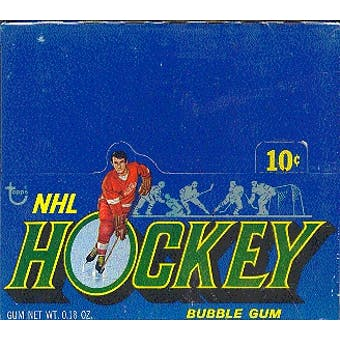 1971/72 Topps Hockey Wax Box
