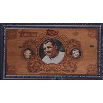 2008 Topps American Heritage Baseball Hobby Box