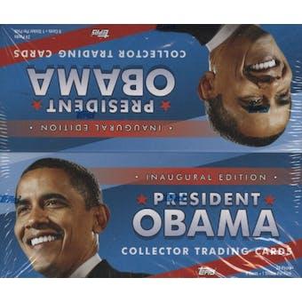 President Barack Obama Collector Trading Cards Hobby Box (2009 Topps)