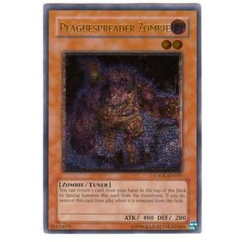Yu-Gi-Oh Crossroads of Chaos Single Plaguespreader Zombie Ultimate Rare