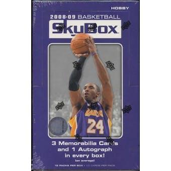 2008/09 Upper Deck Skybox Basketball Hobby Box