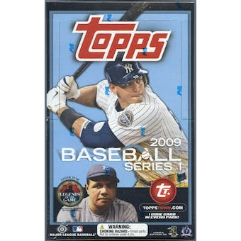 2009 Topps Series 1 Baseball Hobby Box (Reed Buy)