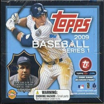 2009 Topps Series 1 Baseball Jumbo Box