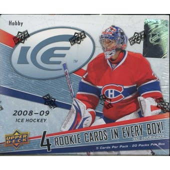 2008/09 Upper Deck Ice Hockey Hobby Box