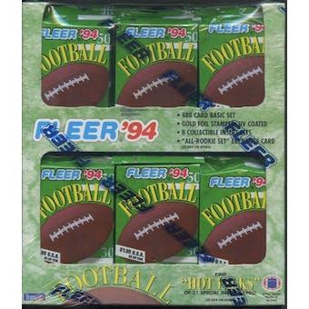 1994 Fleer Football Jumbo Box