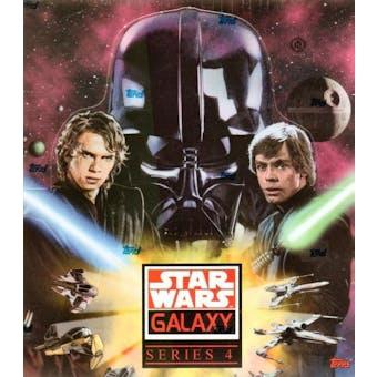 Star Wars Galaxy Series 4 Hobby Box (Topps 2009)