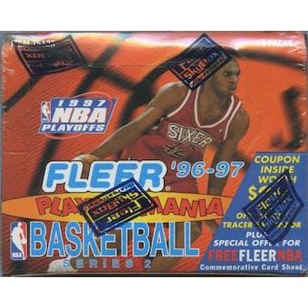 1996/97 Fleer Series 2 Playoff Mania Basketball Box