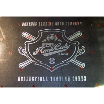 2008 Playoff Prime Cuts 4 Baseball Hobby Box