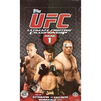 2009 Topps UFC Round One Hobby Box