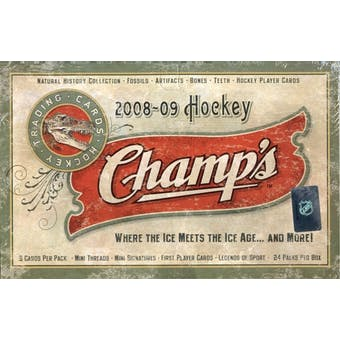2008/09 Upper Deck NHL Champs Hockey Hobby Box