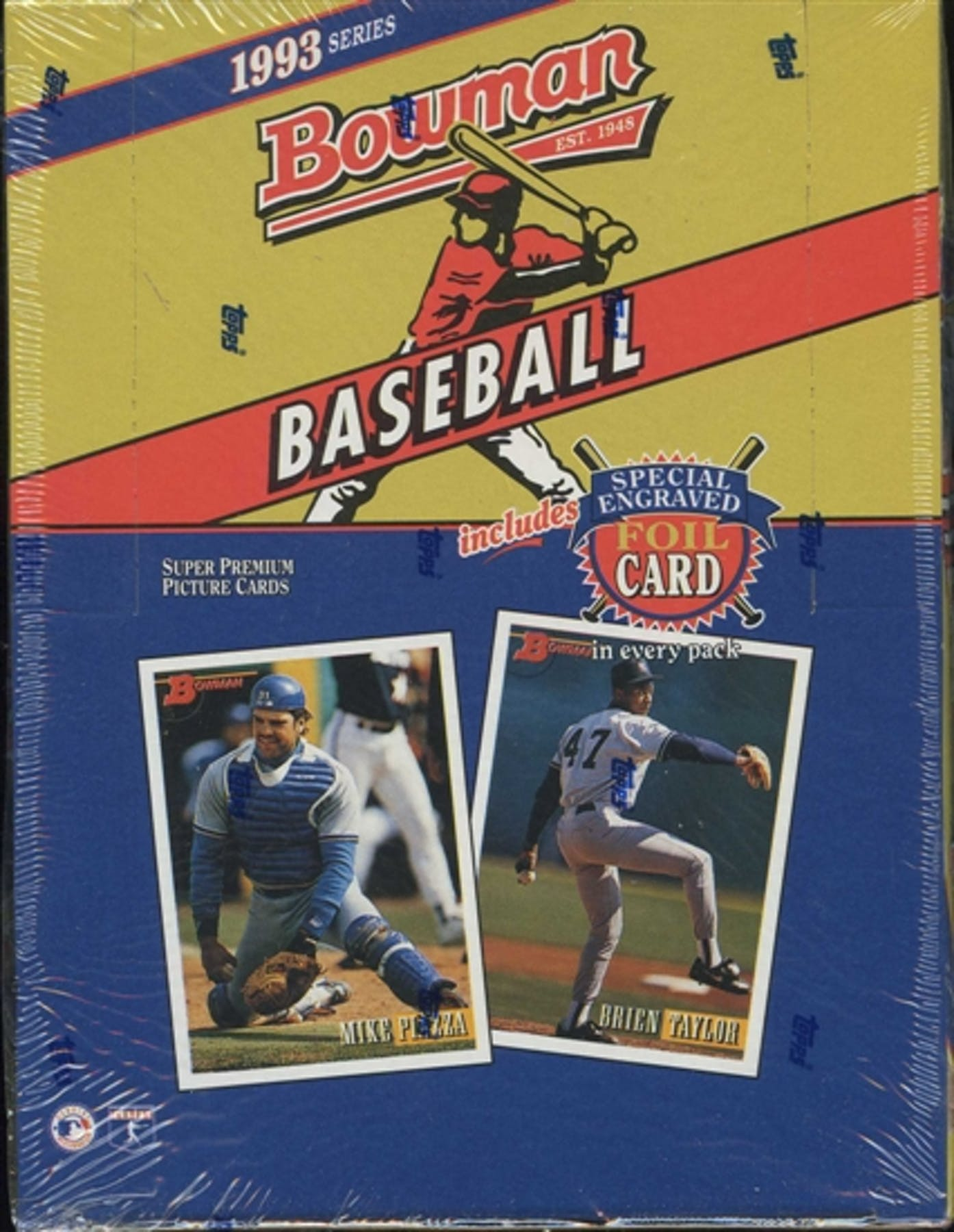 1993 Bowman Baseball Hobby Box Da Card World