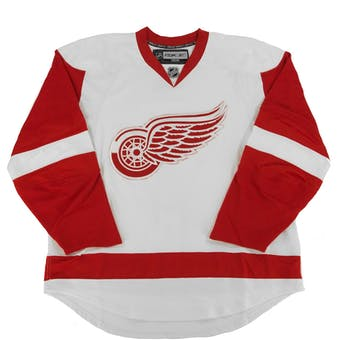 Detroit Red Wings Reebok Edge White Authentic Jersey (Adult 52)