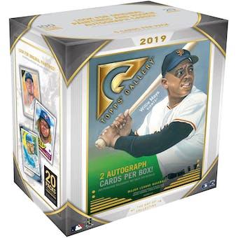 2019 Topps Gallery Baseball Monster Box