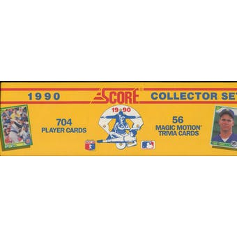 1990 Score Baseball Factory Set
