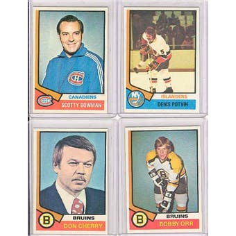 1974/75 Topps Hockey Complete Set (NM-MT)
