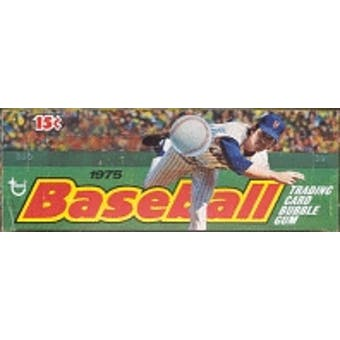 1975 Topps Mini Baseball Wax Box