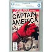 Captain America #25 CBCS 9.8 (W) *7506541-AC-001*