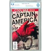 Captain America #25 CBCS 9.8 (W) *7506541-AC-002*