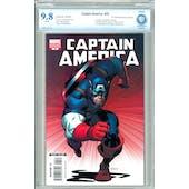 Captain America #25 CBCS 9.8 (W) Variant *7506541-AC-018*