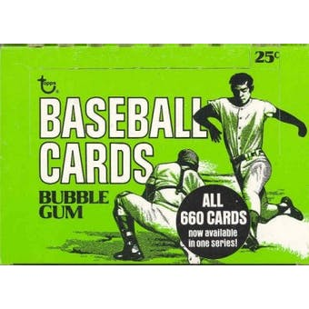 1975 Topps Baseball Cello Box