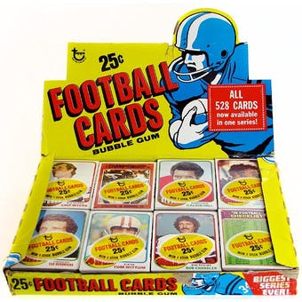 1976 Topps Football Cello Box