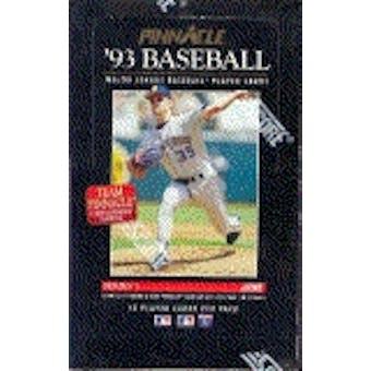 1993 Pinnacle Series 1 Baseball Hobby Box