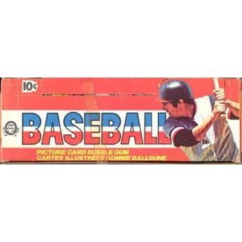 1976 O-Pee-Chee Baseball Wax Box