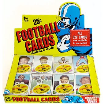1975 Topps Football Cello Box