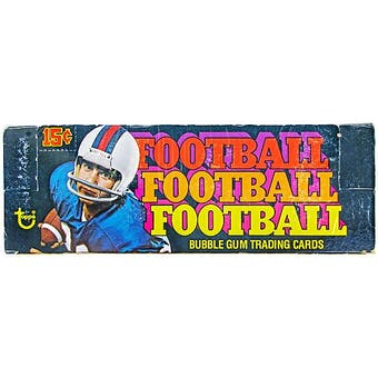 1976 Topps Football Wax Box