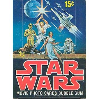 Star Wars 1st Series Wax Box (1977-78 Topps)