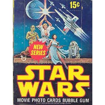 Star Wars 2nd Series Wax Box (1977-78 Topps)