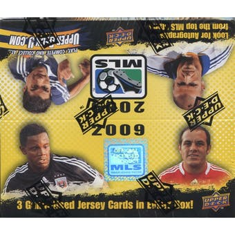 2009 Upper Deck MLS Major League Soccer Hobby Box